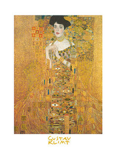 Portrait of Adele Bloch by Gustav Klimt