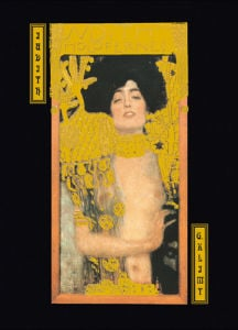 Judith and Holofernes by Gustav Klimt