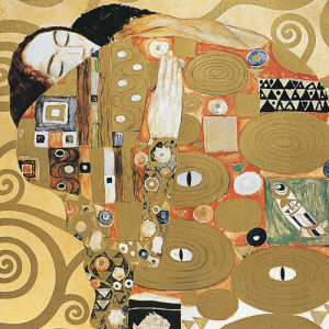 Fulfilment (detail) by Gustav Klimt