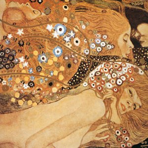 Golden Fish (Sea Serpents) by Gustav Klimt