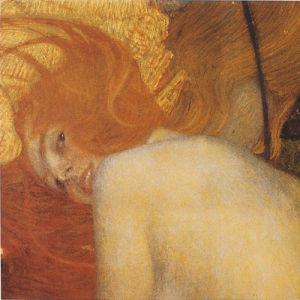 Water Snake by Gustav Klimt