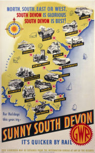 Sunny South Devon - It's Quicker by Rail by National Railway Museum