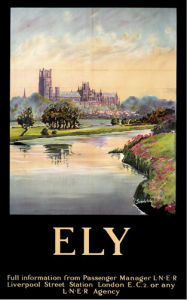 Ely - Cathedral (dark border by National Railway Museum