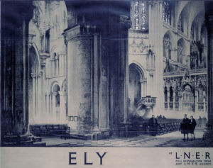 Inside Ely Cathedral by National Railway Museum