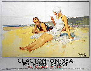 Clacton-On-Sea - for Modern Holidays by National Railway Museum