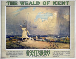 The Weald of Kent by National Railway Museum