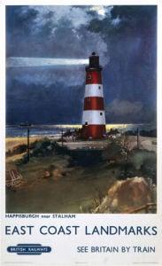 East Coast Landmarks - Happisburgh Lighthouse by National Railway Museum
