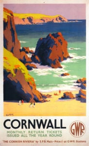 Cornwall - The Cornish Riviera by National Railway Museum