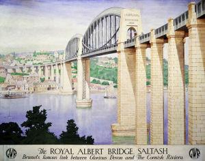 Royal Albert Bridge, Saltash by National Railway Museum