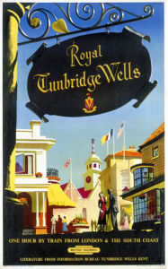 Royal Tunbridge Wells - Sign by National Railway Museum