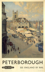 Peterborough - Market by National Railway Museum