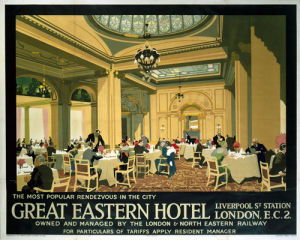 London - Great Eastern Hotel by National Railway Museum