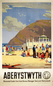 Aberystwyth - Beach by National Railway Museum