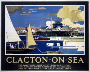 Clacton-on-Sea from Boat by National Railway Museum