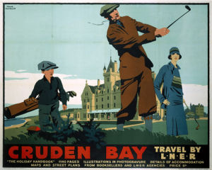 Cruden Bay - Golf by National Railway Museum