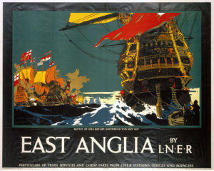 East Anglia - Battle of Sole Bay by National Railway Museum