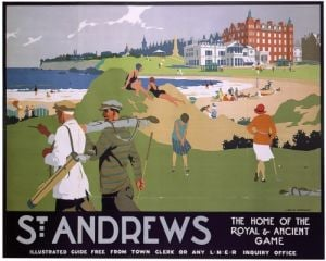 St Andrews - Home of the Royal and Ancient Game by National Railway Museum