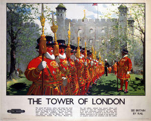 Tower of London - Beefeaters by National Railway Museum