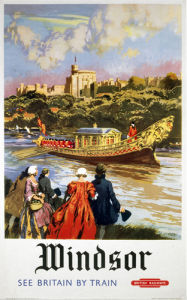Windsor - Royal Barge by National Railway Museum