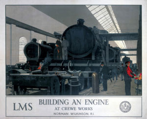 Building an Engine at Crewe Works by National Railway Museum