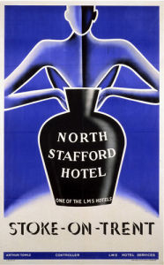 North Stafford Hotel, Stoke-on-Trent by National Railway Museum