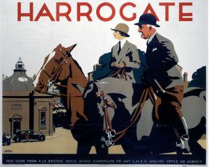Harrogate - Couple on Horseback by National Railway Museum