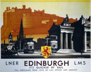 Edinburgh - Trams by National Railway Museum