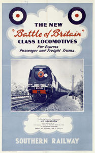 Battle of Britain Class Locomotives by National Railway Museum