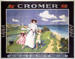 Cromer - Poppies by National Railway Museum