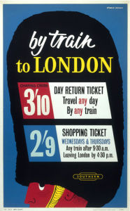 By Train to London by National Railway Museum