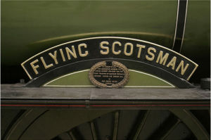Flying Scotsman - Nameplate by National Railway Museum