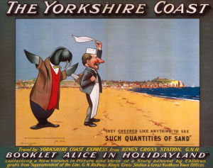The Yorkshire Coast - Walrus and Carpenter by National Railway Museum
