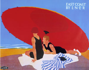 East Coast by LNER - Sunshade by National Railway Museum