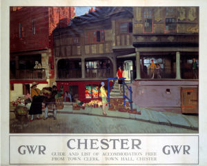 Chester - Shops by National Railway Museum