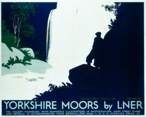 Yorkshire Moors - Mallyan Spout by National Railway Museum