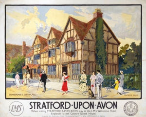 Stratford-upon-Avon - Shakespeare's Birthplace I by National Railway Museum