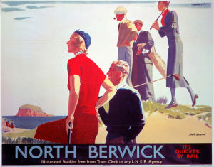 North Berwick - Golf II by National Railway Museum