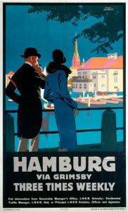 Hamburg via Grimsby II by National Railway Museum