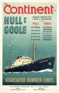 The Continent via Hull and Goole III by National Railway Museum
