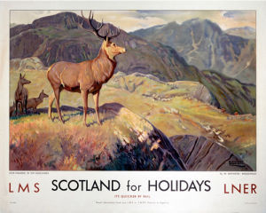 Scotland for Holidays - Deer Stalking by National Railway Museum
