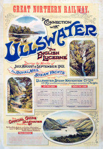 Ullswater - The English Lucerne by National Railway Museum