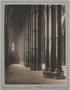 Westminster Abbey - Interior View by National Railway Museum