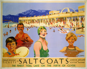Saltcoats on the Firth of Clyde by National Railway Museum