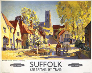Suffolk - Kersey by National Railway Museum