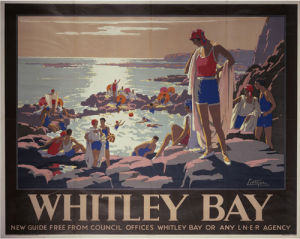 Whitley Bay - Swimmers by National Railway Museum