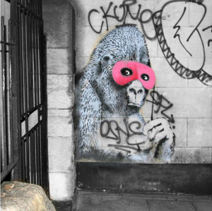 Banksy - Gorilla by Panorama London