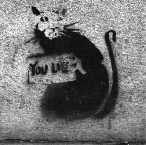 Banksy - Bishopsgate by Panorama London