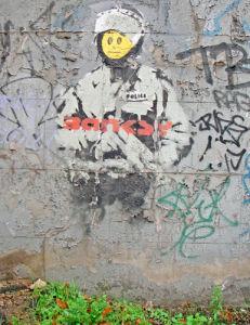Banksy - East Road by Panorama London