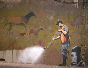 Banksy - Leake Street Buffer by Panorama London