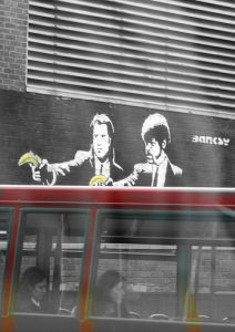 Banksy - Old Street 2 by Panorama London